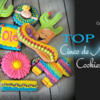 Top 10 Cinco de Mayo Cookies Banner: Cookies and Photo by Rocking Horse Sugar Decor; Graphic Design by Julia M Usher