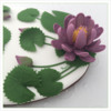 Water Lily Detail, Another View: Design, Cookie, and Photo by Manu