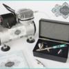The New JULIA Airbrush System!: Designed in Partnership with Badger Air-Brush Co.; Photo by Julia M Usher