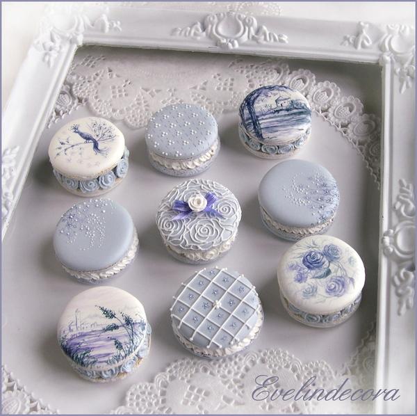 #2 - Macaron Cookies by Evelindecora