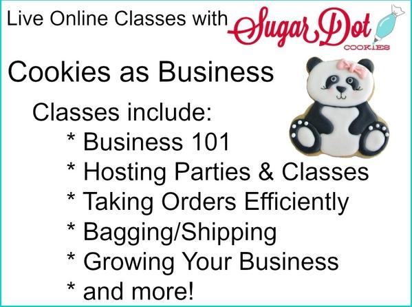 how to start grow cookie business live online class sugar dot
