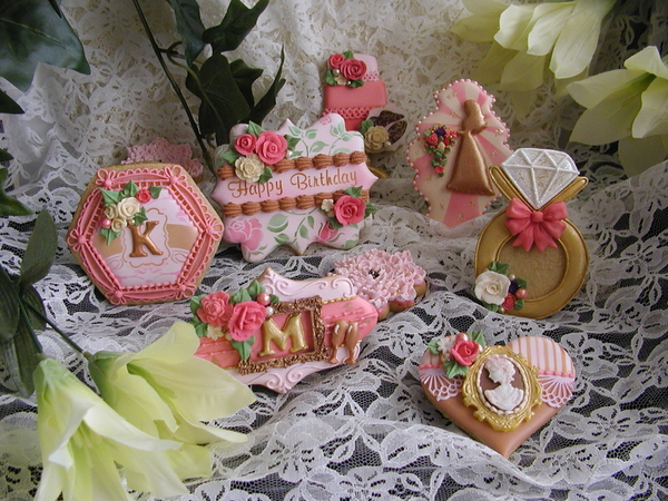 #8 - Combination Birthday and Engagement Order by Cookies Fantastique by Carol