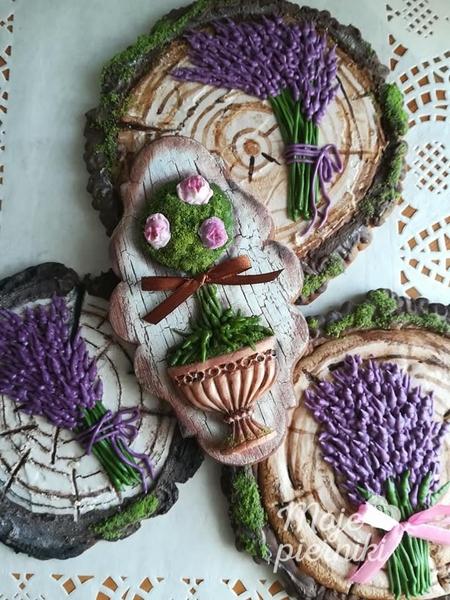 #9 - Wood, Moss, and Lavender by E. Kiszowara MOJE PIERNIKI