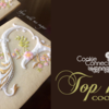 Top 10 Cookies Banner: Cookies and Photo by Susan Hennes; Graphic Design by Julia M Usher