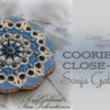 Cookier Close-up Banner for Sonja Galmad: Cookie and Photo by Sonja Galmad; Graphic Design by Julia M Usher