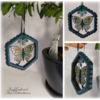 Isomalt Butterfly Suncatcher: Cookie/Isomalt Work and Photos by Sonja Galmad