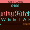 Country Kitchen SweetArt Gift Card: Courtesy of Autumn Carpenter at Country Kitchen SweetArt