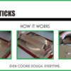 Dough Sticks and How They Work: Graphic and Photos Courtesy of Tina Shedd of telebaker.com