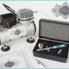 The New JULIA Dual-Action Airbrush System: Designed by Julia M Usher in Partnership with Badger Air-Brush Co.; Photo by Julia M Usher