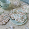 Both Seas the Day Dynamic Duos Sets in Use with Chunky Knots: Cookies, Knots, and Photo by Julia M Usher; Stencils Designed by Julia M Usher in Partnership with Confection Couture Stencils