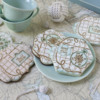 Both Seas the Day Dynamic Duos Sets in Use: Cookies and Photo by Julia M Usher; Stencils Designed by Julia M Usher in Partnership with Confection Couture Stencils