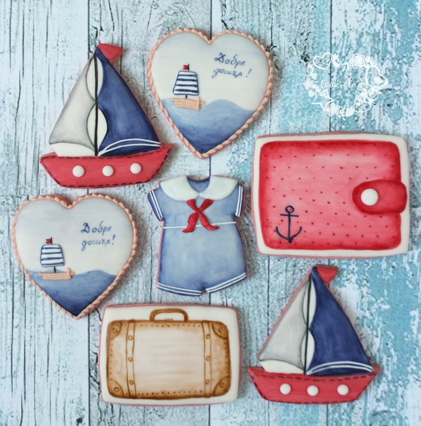 #9 - Nautical Cookies by Cookieland