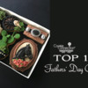 Top Ten Fathers' Day Banner: Cookies and Photo by Lorena Rodríguez; Graphic Design by Julia M Usher