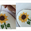 Step 4n - Outline Petals: Design, Cookie, and Photos by Manu