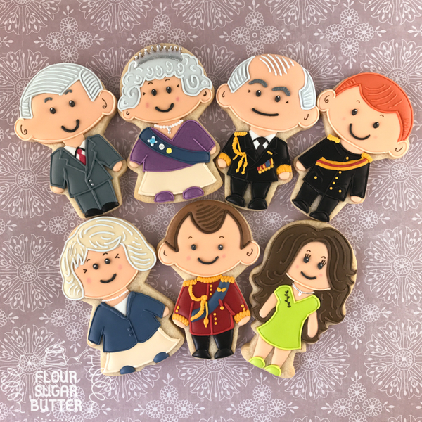 Royal Family Cookies