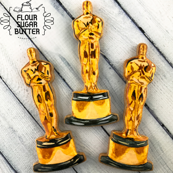 Handpainted Academy Award Cookies