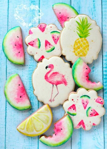 #4 - Watercolor Sweet Summer by Cookieland