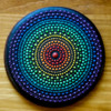 #2 - Rainbow Mandala: By Aproned Artist