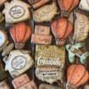 #3 - Vintage Travel-Themed Cookies: By Doshia Freeman