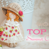 Top 10 Summer Cookies Banner: Cookies and Photo by Gina's Cake; Graphic Design by Julia M Usher