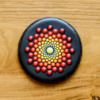 Dot Mandala Cookie - Where We're Headed!: Cookie and Photo by Aproned Artist