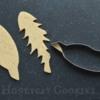 Step 1 - Cut Dandelion Leaves: Cookies and Photo by Honeycat Cookies