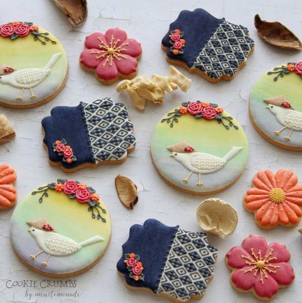 #2 - Vietnam-Themed Cookies by mintlemonade (cookie crumbs)