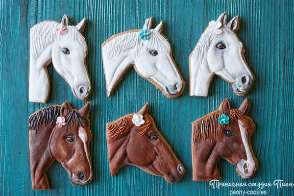 #8 - Horse Cookies by Anastasia - Peony Cookies