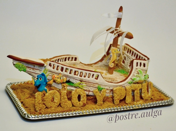 #3 - Gingerbread Sunken Ship by Aulga