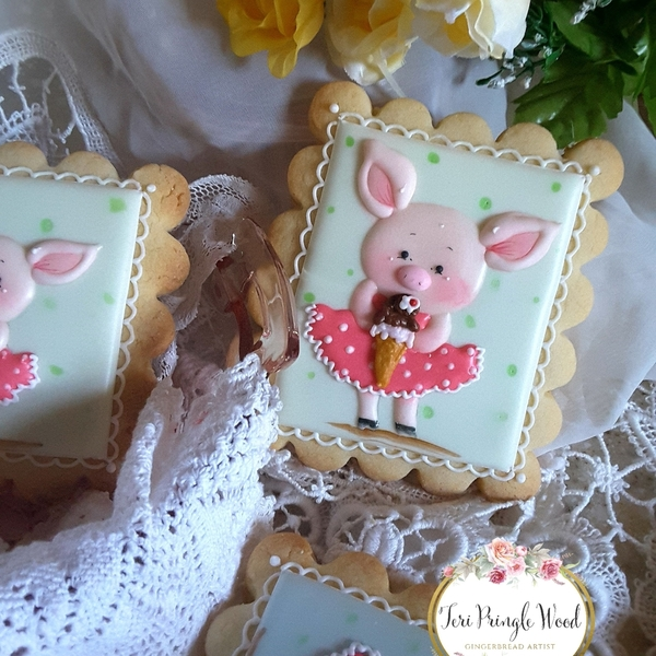 #4 - Piggies and Ice Cream by Teri Pringle Wood
