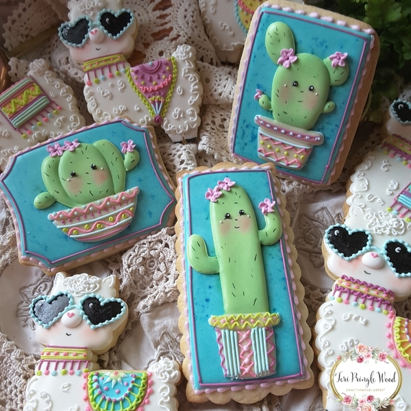 #4 - Cacti and Llamas by Teri Pringle Wood
