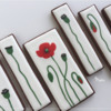 More Wet-on-Wet Poppy Cookies: Design, Cookies, and Photo by Manu