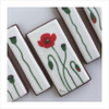 Wet-on-Wet Poppy Cookies - All Done!: Design, Cookies, and Photo by Manu