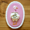 Mother Goose Cookie - Where We're Headed!: Cookie and Photo by Aproned Artist