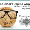 One Smart Cookie Award Banner: Cookie Photo from iStock with Permission; Graphic Design by Julia M Usher