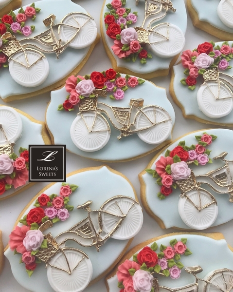 #7 - Mothers' Day Bike Cookies by Lorena Rodríguez