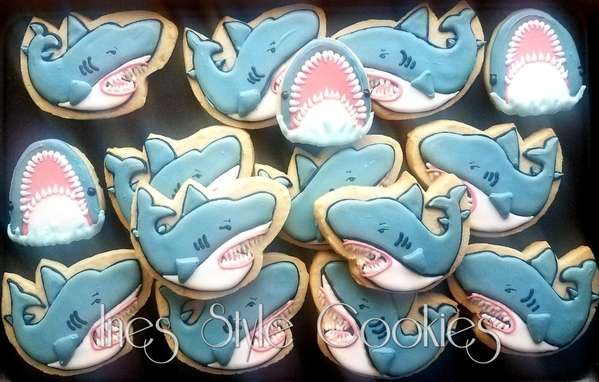 #8 - Sharks by Ines Doherty