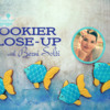 Berni's Cookier Close-up Banner: Cookies and Photos by Berni Solti; Graphic Design by Julia M Usher