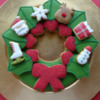 Advent Wreath: Cookies and Photo by Berni Solti