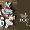 Top 10 Cookies Banner: Cookies and Photo by Nadia Rodriguez; Graphic Design by Julia M Usher