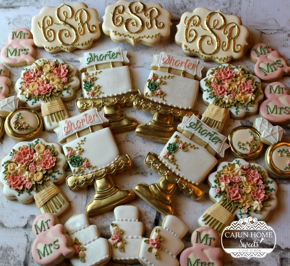 #7 - Set for Shorter Wedding by Cajun Home Sweets