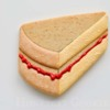 """Step 8 - Victoria Sponge Cake Slice with Piped """"Jam"""": Cookie and Photo by Honeycat Cookies"""