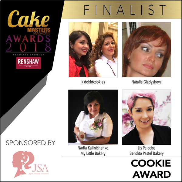 Cake Masters Cookie Finalists