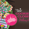 Hillary's Cookier Close-up Banner: Cookies and Photo by Hillary Ramos, The Cookie Countess; Graphic Design by Julia M Usher
