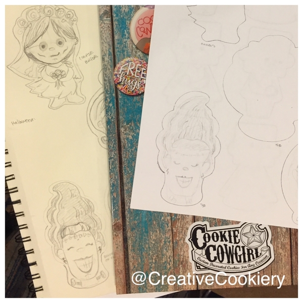 A Peek at Cookie Cowgirl's Class - Character Sketching