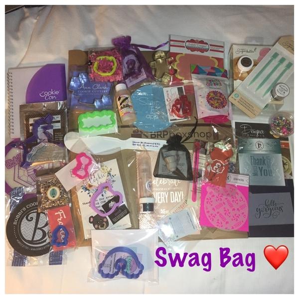 CookieCon 2018 Swag Bag Contents