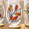Autumn Suncatcher Cookie - Where We're Headed!: Cookies and Photo by Aproned Artist