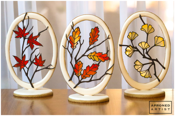 autumn suncatcher set