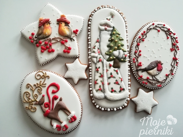 #1 - Christmas Cookies by E. Kiszowara MOJE PIERNIKI