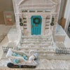 Outside of Deconstructed Tiffany-Style Gingerbread House: Cookies and Photo by Heather Brookshire